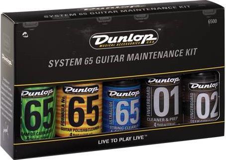 Καθαριστικά - ΣυντήρησηDunlop6500 Care Kit Σετ Καθαριστικών Κιθάρας