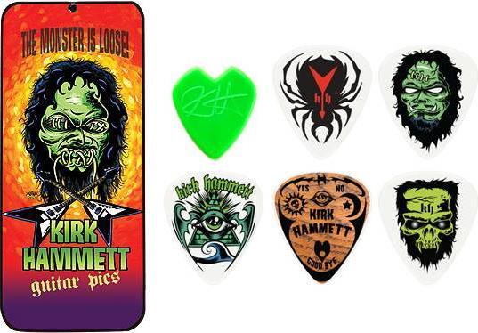 ΠέννεςDunlopKirk Hammett (6 τεμάχια)