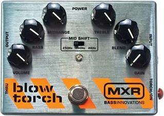 Εφφέ Μπάσου Dunlop MXR M181 Blow Torch Distortion