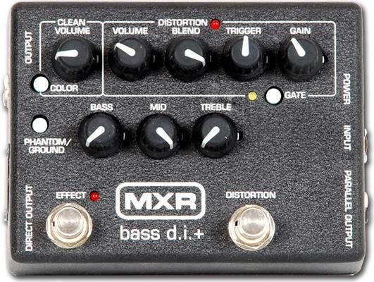Εφφέ ΜπάσουDunlopMXR Μ80 Bass Distortion/DI box Πετάλι