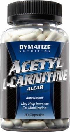 Συμπλήρωμα ΔιατροφήςDymatizeAcetyl Carnitine 90ct