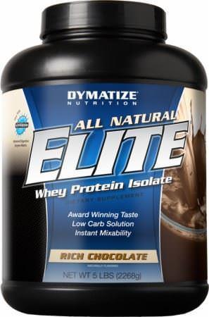 Συμπλήρωμα ΔιατροφήςDymatizeAll Natural Elite Whey 5lb