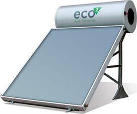 Ηλιακοί Θερμοσίφωνες Eco² by Calpak