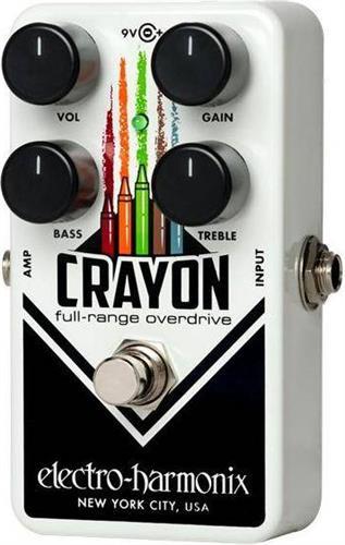 Εφέ & ΠετάλιαElectro-HarmonixCrayon 69 Full Overdrive