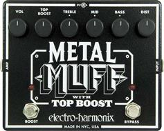 Electro-Harmonix Metal Muff Distortion με Top Boost