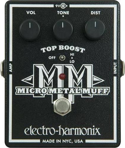 Εφέ & ΠετάλιαElectro-HarmonixMicro Metal Muff Πετάλι