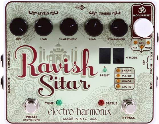 Εφέ & ΠετάλιαElectro-HarmonixRavish Sitar Πετάλι