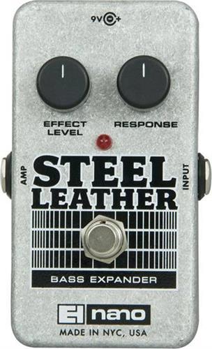 Εφφέ ΜπάσουElectro-HarmonixSteel Leather Πετάλι Bass Expander
