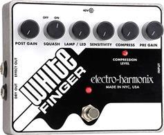 Electro-Harmonix White FInger Compressor