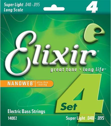 ΧορδέςElixir14002 Nanoweb Super Light Ηλεκτρικού Μπάσου