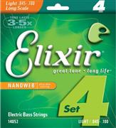 Elixir 14052 Nanoweb Light Ηλεκτρικού Μπάσου