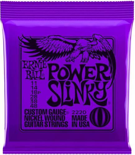 ΧορδέςErnieBall2220 Power Slinky 0,11 Ηλεκτρικής Κιθάρας
