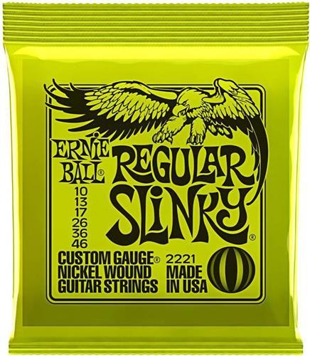 ΧορδέςErnieBallRegular Slinky 0.10 Ηλεκτρικής Κιθάρας
