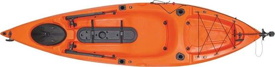 Κανό & Kayak Escape 1134506 Dace pro angler 10ft Πορτοκαλί