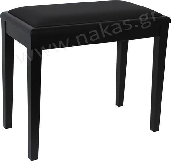 Κάθισμα ΠιάνουEurolegnoP-18 Clavinova Μαύρο Ματ