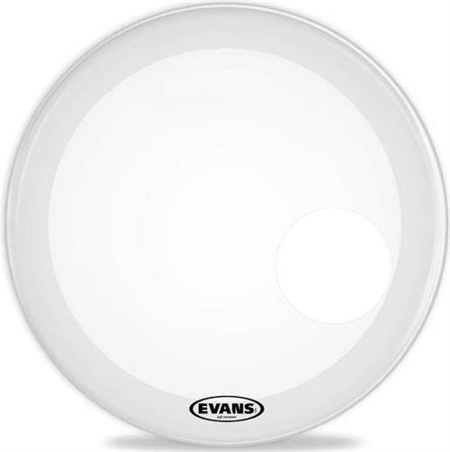 Δέρμα Drums Evans BD26RSW EQ3 Resonant White με τρύπα 26