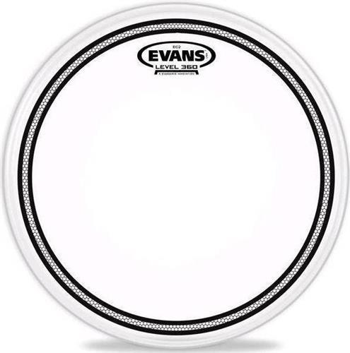 Δέρμα DrumsEvansTT12ECR EC Resonant Τομ-Ταμπούρου-Timbale 12