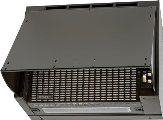 Πτυσσόμενος ΑπορροφητήραςFaberBI 3096 SRM Brown