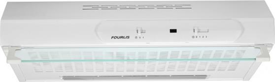 Ελεύθερος ΑπορροφητήραςFourlisFS 2130/60 WH Λευκό