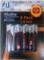 F&U AB8P Αλκαλικές Μπαταρίες 4xAA & 4x3A
