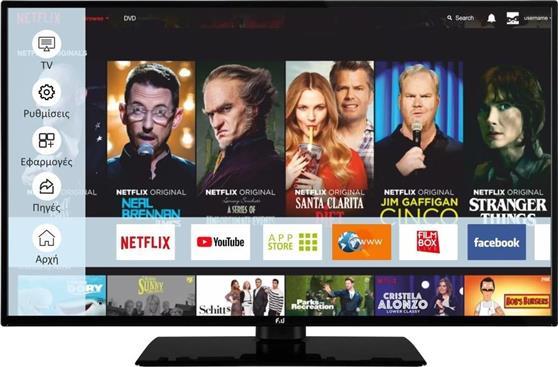 Τηλεόραση LEDF&UFL2D4307UH