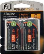 F&U LR202P Αλκαλικές Μπαταρίες Τύπου LR20/D