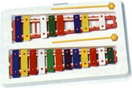 Goldon 11006 Μεταλλόφωνο με 20 χρωματιστές νότες