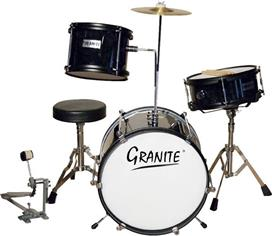 Granite Mini Junior Mαύρο