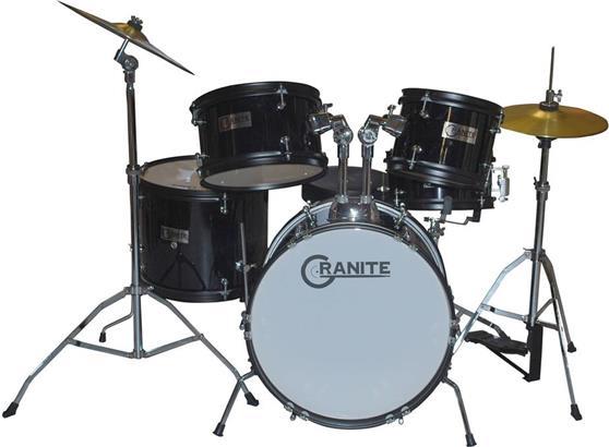 Ακουστικό Drum SetGraniteRock Black