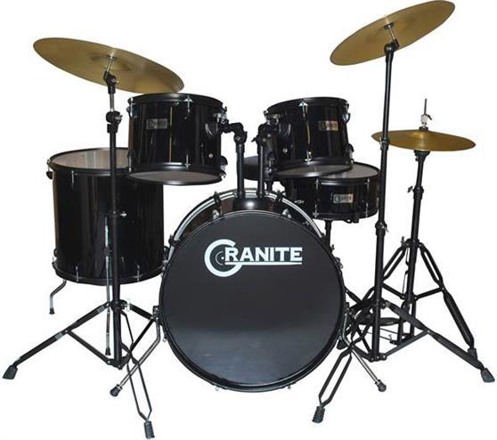 Ακουστικό Drum SetGraniteRockbeat Black