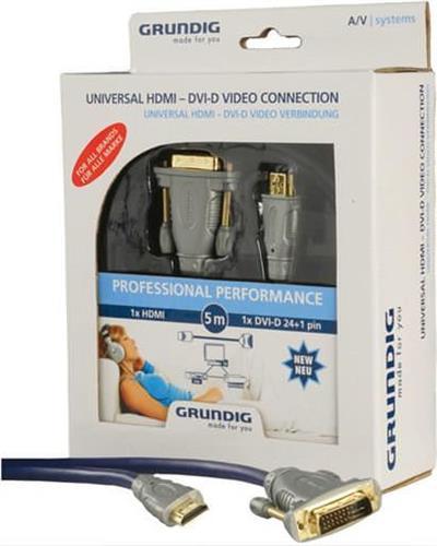 ΚαλώδιοGrundigHDMI-DVI-D/2m