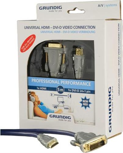 ΚαλώδιοGrundigHDMI-DVI-D/3m