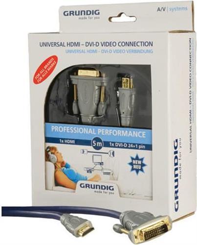 ΚαλώδιοGrundigHDMI-DVI-D/5m