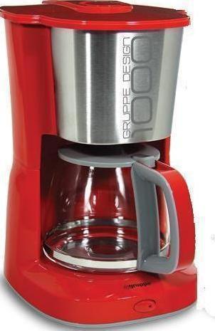 Καφετιέρα ΦίλτρουGruppeCM 331 BE Κόκκινο Γκρι