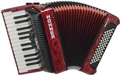 Hohner Bravo II 60 Silent Key Κόκκινο