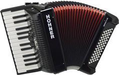 Hohner Bravo II 60 Silent Key Μαύρο