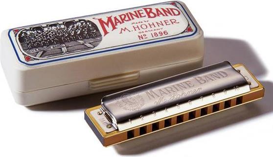 ΦυσαρμόνικαHohnerMarine Band 1896/20 Ντο Αρμονική Μινόρε