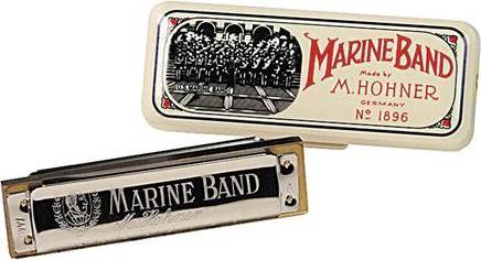 ΦυσαρμόνικαHohnerMarine Band 1896/20 Ρε Αρμονική Μινόρε