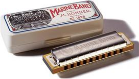 Hohner<br/>Marine Band 1896/20 Ρε Φυσικό Μινόρε