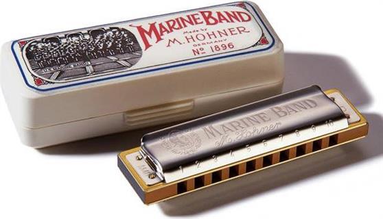 ΦυσαρμόνικαHohnerMarine Band 1896/20 Σολ Αρμονική Μινόρε