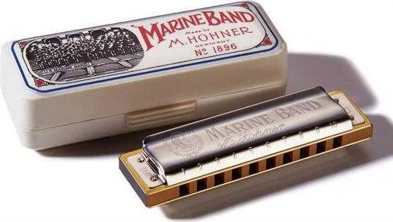 ΦυσαρμόνικαHohnerMarine Band 1896/20 Σολ Ματζόρε