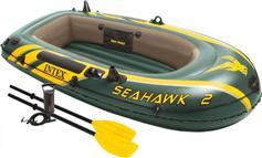 Intex 68347 Seahawk 2 Set με Κουπιά & Τρόμπα