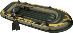 Intex 68351 Seahawk 4 Set με κουπιά & τρόμπα