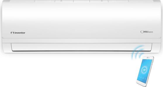 Κλιματιστικό ΤοίχουInventorOmnia Eco O3MVI32-12WiFiR/O3MVO32-12 Inverter 12000 BTU