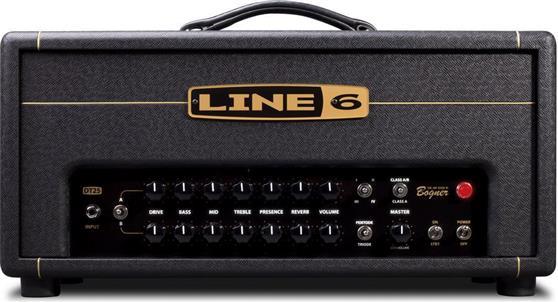 Κεφαλή Ηλεκτρικής ΚιθάραςLine 6DT25 με λυχνίες 25 Watt