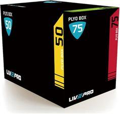Live Pro Plyo Box Soft 3 σε 1 Πλειομετρικό Κουτί Crossfit
