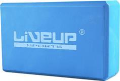 Live Up Yoga Block Τουβλάκι Β 3233Α 23x14x7,5cm Γαλάζιο