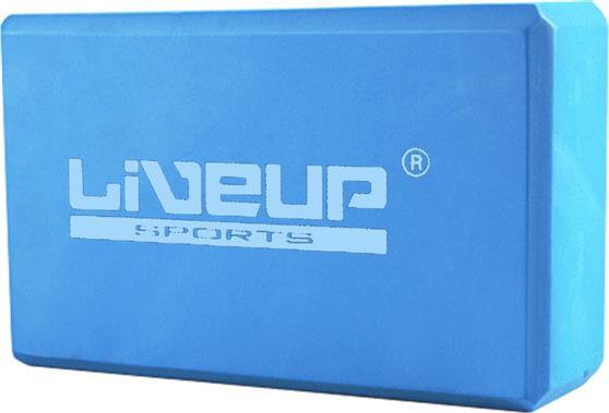 ΔιάφοραLive UpYoga Block Τουβλάκι Β 3233Α 23x14x7,5cm Γαλάζιο