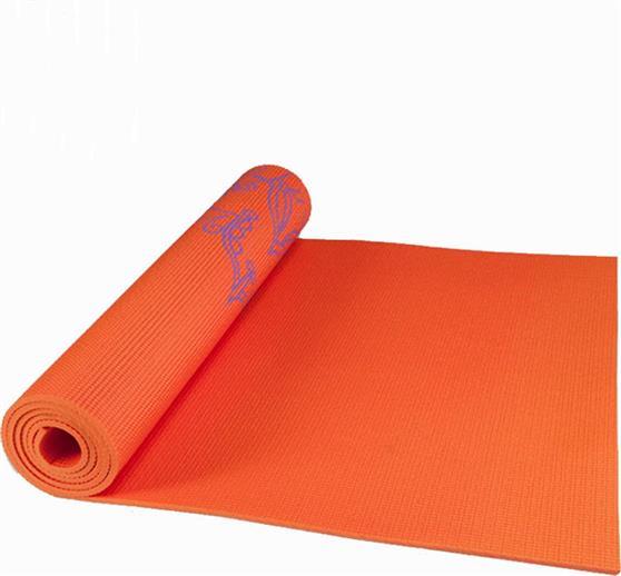 ΣτρώμαLive UpYoga Mat PVC Β 3231C 173x61x0,6cm Πορτοκαλί