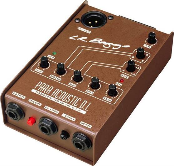 Εφέ & ΠετάλιαL.R BaggsPara Di Preamp Προενισχυτής / DI Box / 5-Band EQ
